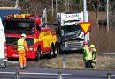 Uppdatering: Ny lastbilsolycka på Riksväg 50