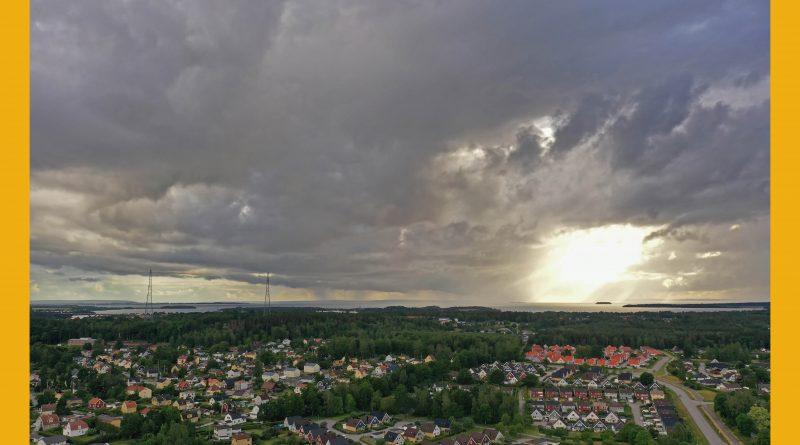 Väderbild: Bakslaget efter midsommarvärmen (juli)